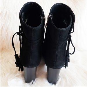 Sam Edelman Shoes - Sam Edelman Winnie Ankle Boots Embroidered Suede 8